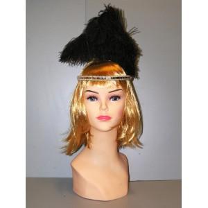 Černozlatá čelenka 4-335410b-A--Ru