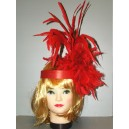 Červená čelenka Charleston 4-3354409b-Ru