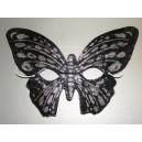 Škraboška černý motýl 5352A-Li