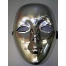 Maska Benátky stříbrná 31004-Li