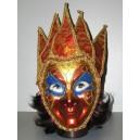 Maska zlatočervená 147587C-Li