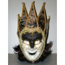 Maska bíločerná 147587A-Li