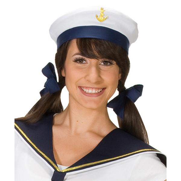 Námořnická čepice s kotvou 4 455151-Ru