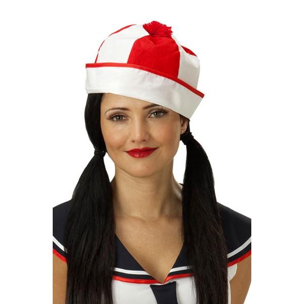 Námořnická čepice mužstvo červená 4 455552A - Ru