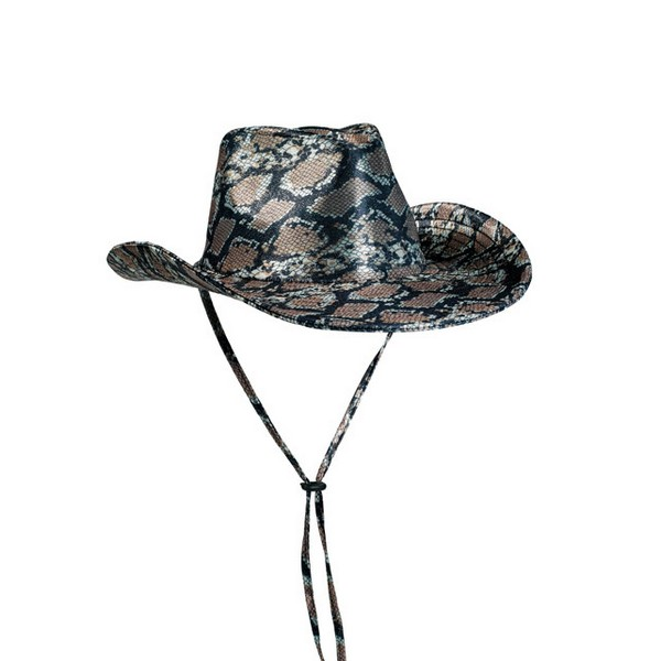 Klobouk kovboj - Hadí kůže 4 410216 - Ru