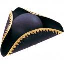Třírohý černý klobouk 4 120140 - Ru