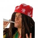 Hippie čepice s vlasy 4F 18023 - Gu