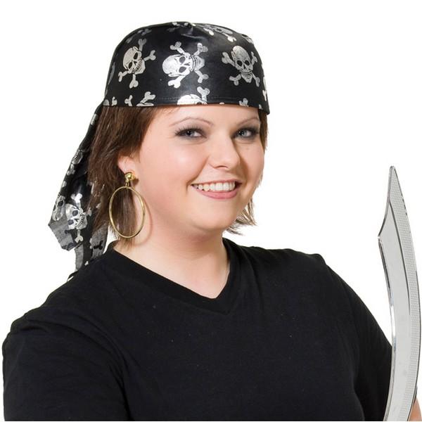 Klobouk, pirátský šátek - 4 220176A -Ru
