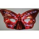 Škraboška červený motýl 2028a-Li
