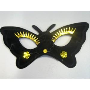 Škraboška černý motýl 2025B-Li
