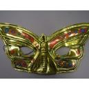 Škraboška zlatý motýl 2028h-Li