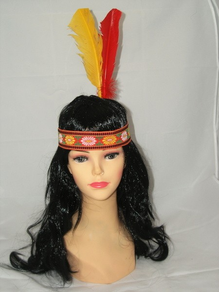 Čelenka Indiánky 500464-Ra