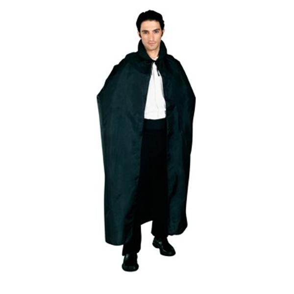 Plášť černý s límcem 2 16105 - Ru