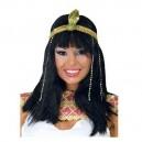 Paruka Kleopatra s čelenkou 5F 4778 - Gu