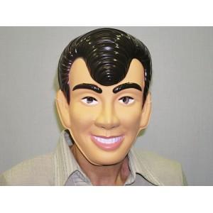 Maska muž s hnědými vlasy 5437 U -D-Wi