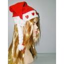 Čepice Santa Claus svítící srdce 440725 - Li