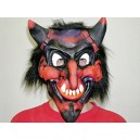Maska čert Pekelník černý 5356D-b-Wi