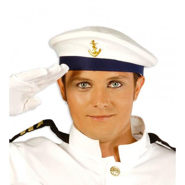 Námořnická čepice Marionero s kotvou 4F 13904 - Gu
