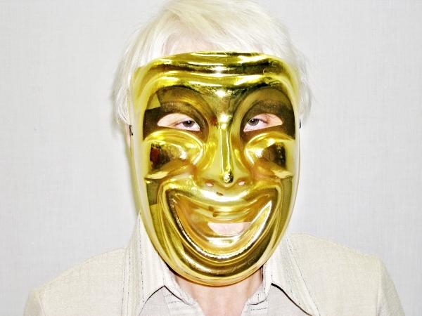 Maska zlatá komedie 5431 P-A-Wi