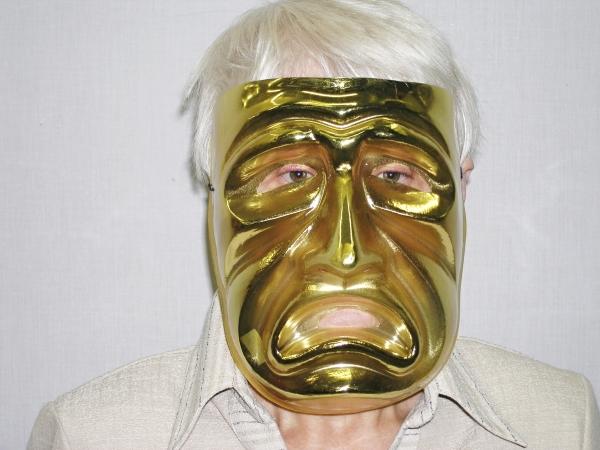 Maska zlatá tragedie 5431 P - B - Wi