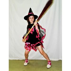 Kostým čarodějnice černorůžový 2009 - Li