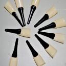 Nástavce na nehty - černý lak 20012 - Li