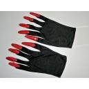 Rukavice s červenými nehty 11067 - Li