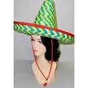 Mexický zeleno-žltý klobúk 3281 - Li