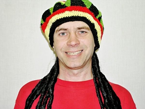 Čepice reggea s vlasy 4 465127 - Ru