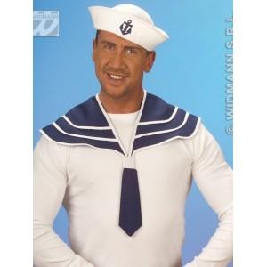 Námořník modrý límec a čepice 5469M-a-Wi