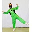 Kostým zelený Ninja (110 - 116) 12543c-Li