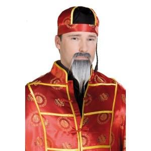 Vousy černé Číňan 5 1656 - Ru