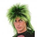 Paruka Punk zelená 5f 4826 -Gu
